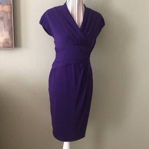 Suzi Chin for maggy boutique purple dress